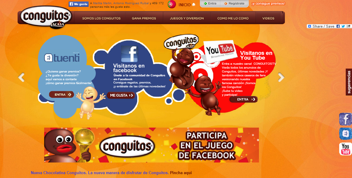 Conguitos Web