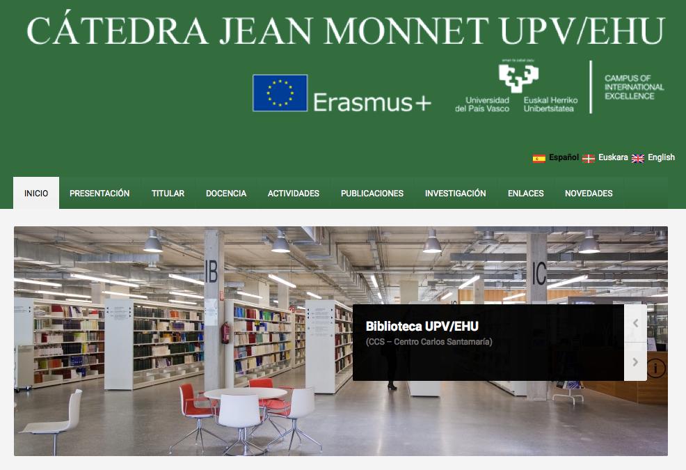 Web Catedra Jean Monnet
