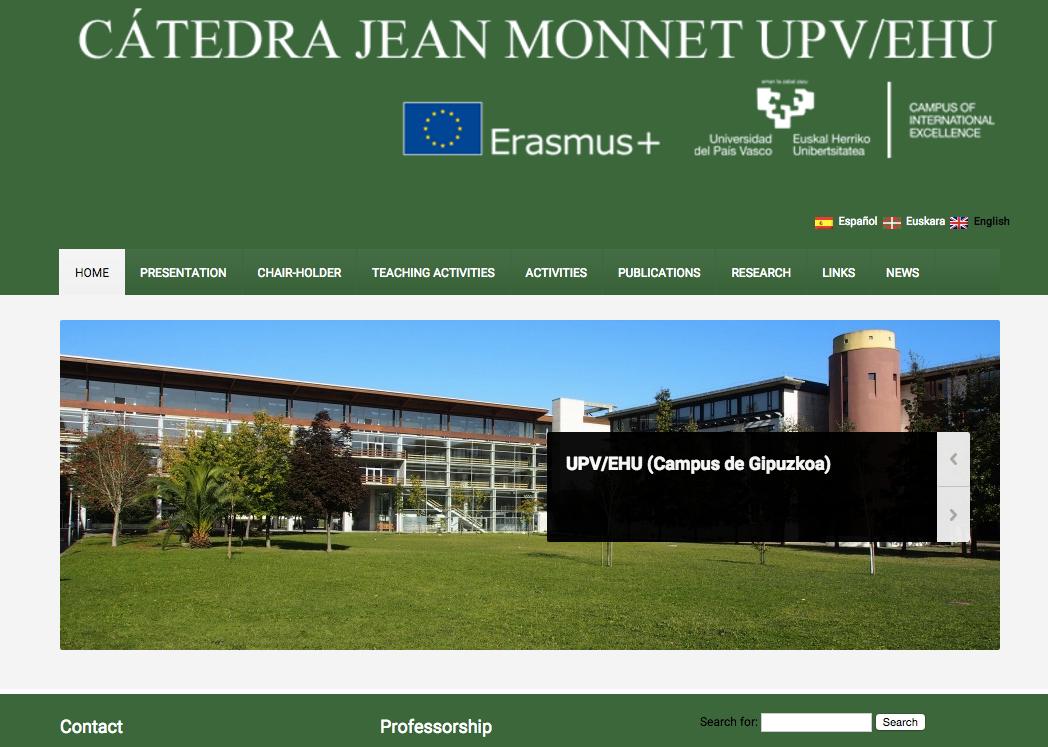 Catedra Jean Monnet imagen ingles